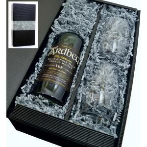 Ardbeg Whisky 10y 46% 0,7l+2 Gläser in Geschenkkarton