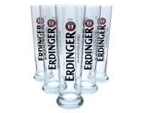 Erdinger alkoholfrei Gläser 6x0,50l