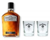 Jack Daniels Gentleman Jack 40% 0,7l + 2 Tumbler