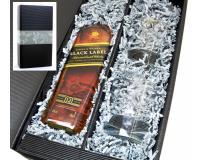 Johnnie Walker Black Label 40% 0,7l + 2 Tumbler in Geschenkkarton
