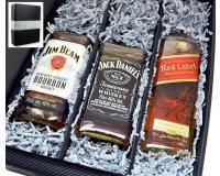 Geschenkkarton Jim+Jack+Johnnie