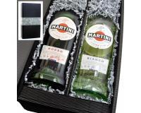 Martini Bianco+Rosso 14,4% 2x0,75l in Geschenkkarton