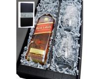 Johnnie Walker Red Label 40% 0,7l + 2 Stölzle Becher in Geschenkkarton