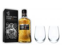 Highland Park Whisky 12y 40% 0,7 Set mit 2 Stölzle Gläser
