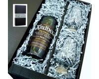 Ardbeg Whisky 10y 46% 0,7l+2 Glencairn Gläser in Geschenkkarton