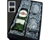 Martini Extra Dry 15% 0,75l mit 2 Gläsern in Geschenkkarton