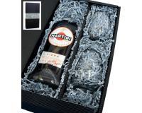 Martini Fiero 14,4% 0,75l mit 2 Gläsern in Geschenkkarton