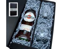 Martini Rosato 14,4% 0,75l mit 2 Gläsern in Geschenkkarton