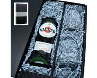 Martini Rosso 14,4% 0,75l mit 2 Gläsern in Geschenkkarton