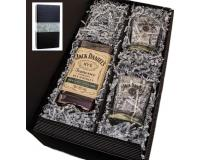 Jack Daniels Rye 45% 0,7l mit 2 JD Tumblern in Geschenkkarton