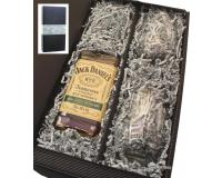 Jack Daniels Rye 45% 0,7l mit 2 Stölze Tumblern in Geschenkkarton