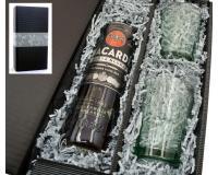 Bacardi black 37,5% 0,7l mit 2 Bacardi Bechern in Geschenkkarton