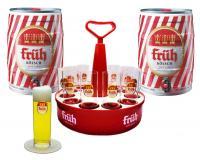 Früh Set Kranz+12 Gläser 0,2l+2 Dosen 5l